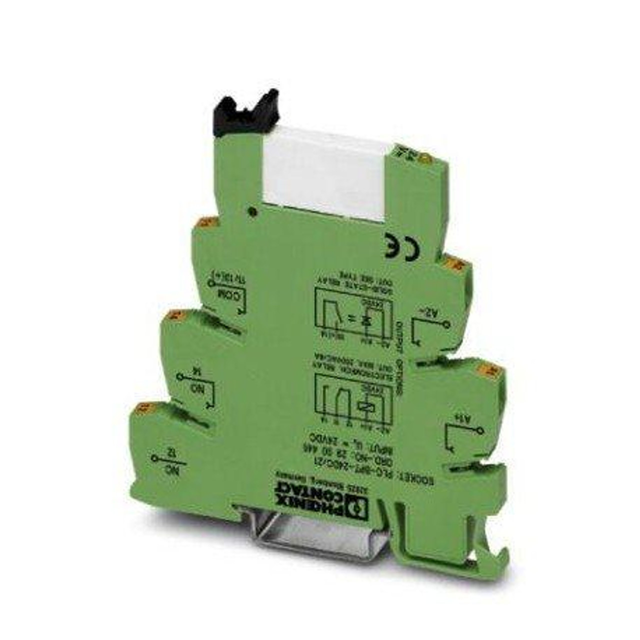 Phoenix Contact 2900316 Relay, PLC, Push-in-Technology (Pit), Power Contact Relay, 12V Dc