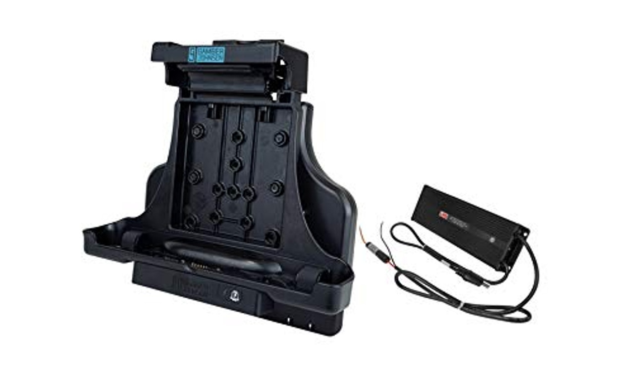 KIT: Zebra L10 Windows Tablet Vehicle Docking Station NO RF (7160-1321-00) and Lind 20/60V Isolated Power Adapter (7400-0028) (7170-0800) | 0408X8YRWAQ