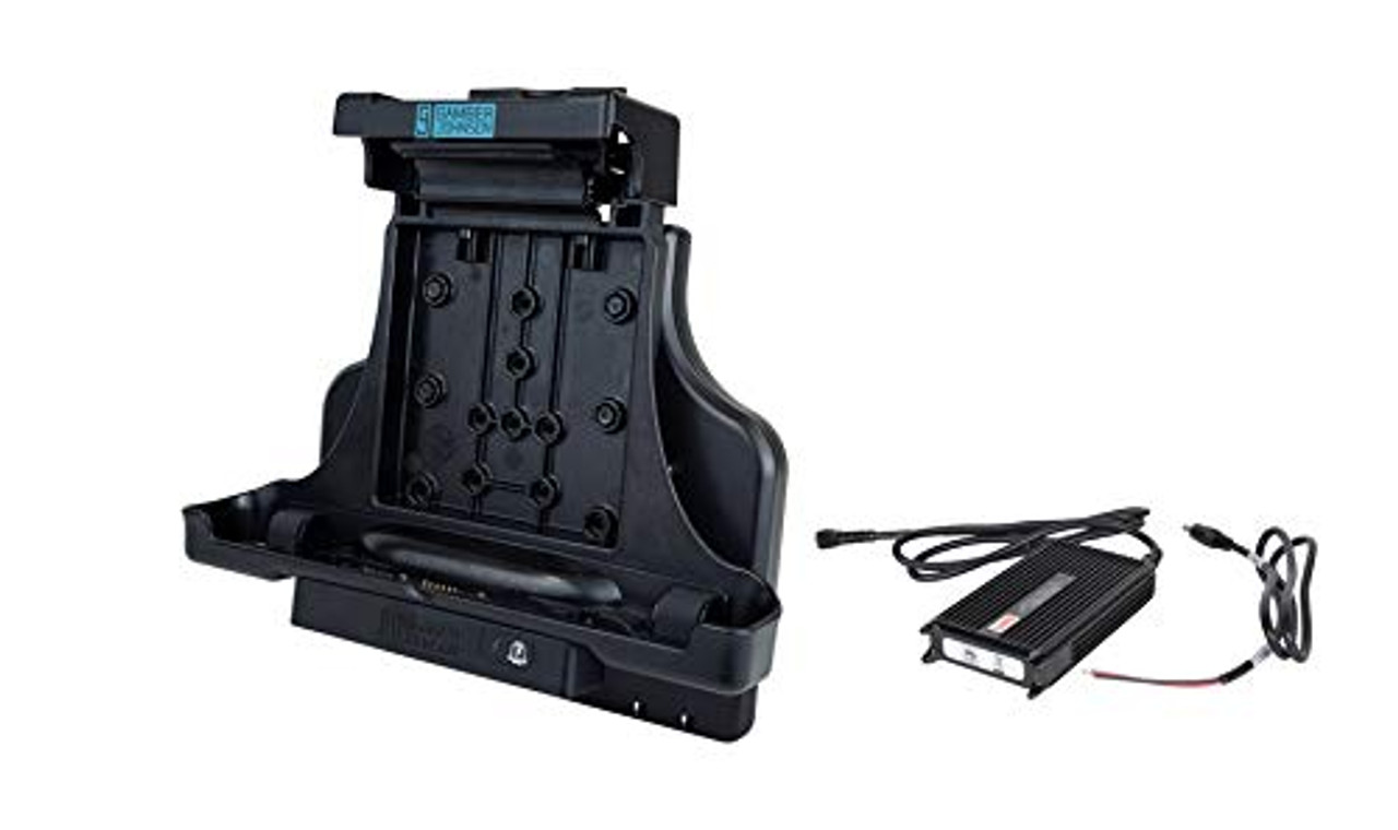 KIT: Zebra L10 Android Tablet Vehicle Docking Station NO RF (7160-1453-00) and Lind 12/16V Auto Power Adapter (7400-0026) | 0309X8MHIWK