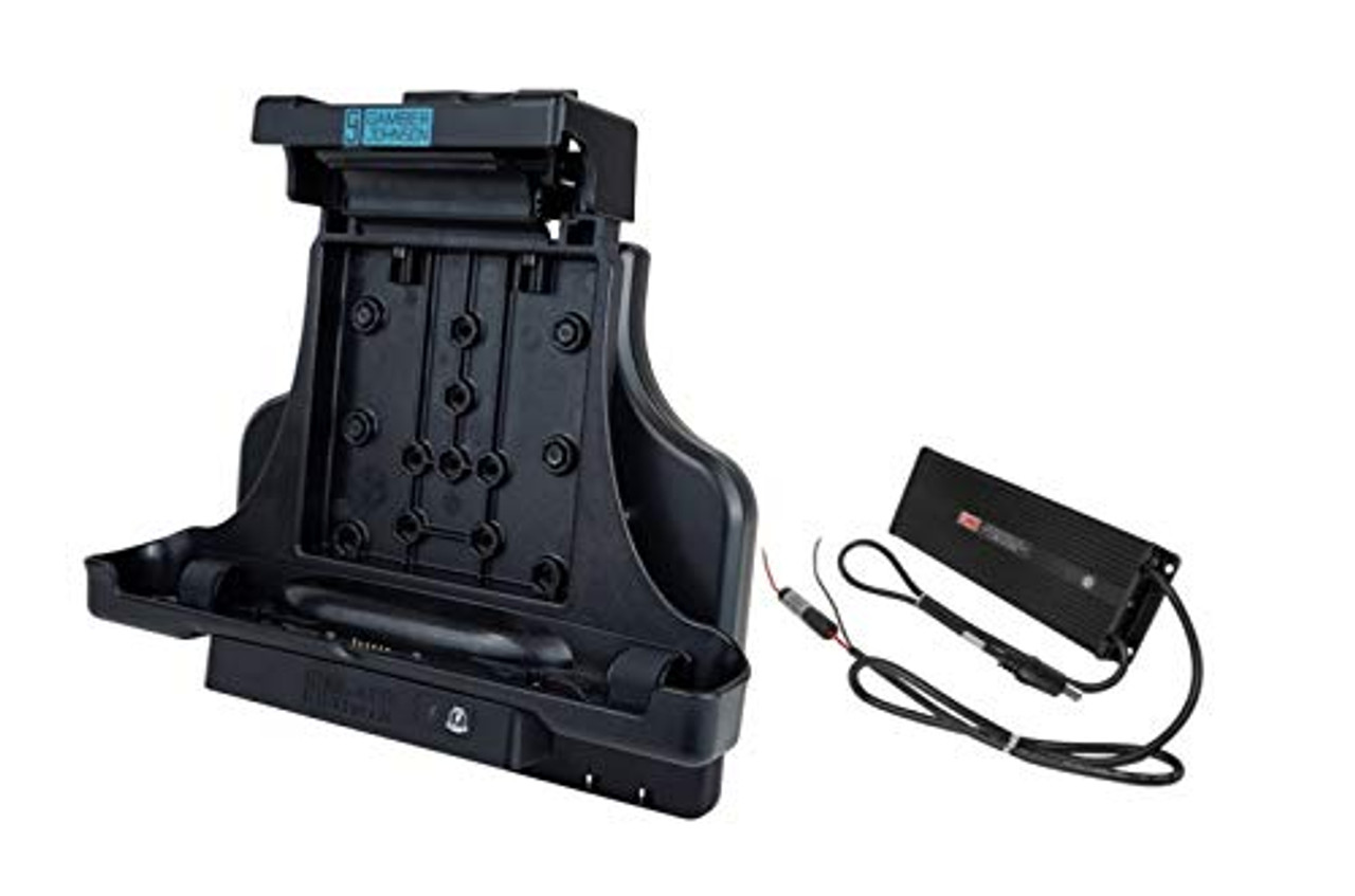 KIT: Zebra L10 Android Tablet Vehicle Docking Station NO RF (7160-1453-00) and Lind 20/60V Isolated Power Adapter (7400-0028)   0309X8LQTRQ