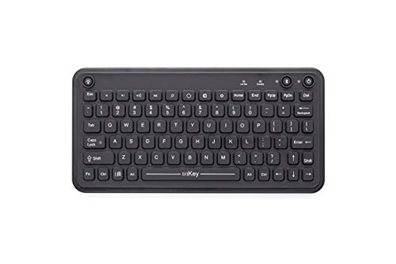 Rechargeable Bluetooth® Keyboard for Windows 8. Fully Sealed, IP68 Case, Bluetooth® Wireless Technology, Windows 8 Integrated hot Keys, VESA Mounting Pattern. (7300-0028) | 0414XLU46DZ