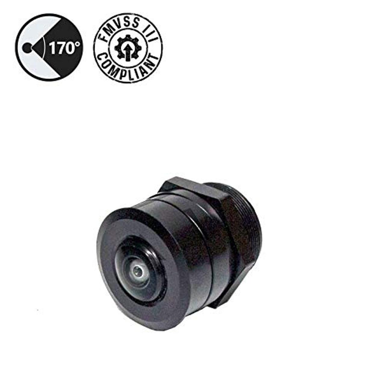 Flushmount Backup Camera (FMVSS 111 Compliant), 66' Cable, RCA Adapter | 1016VYOI1Z9