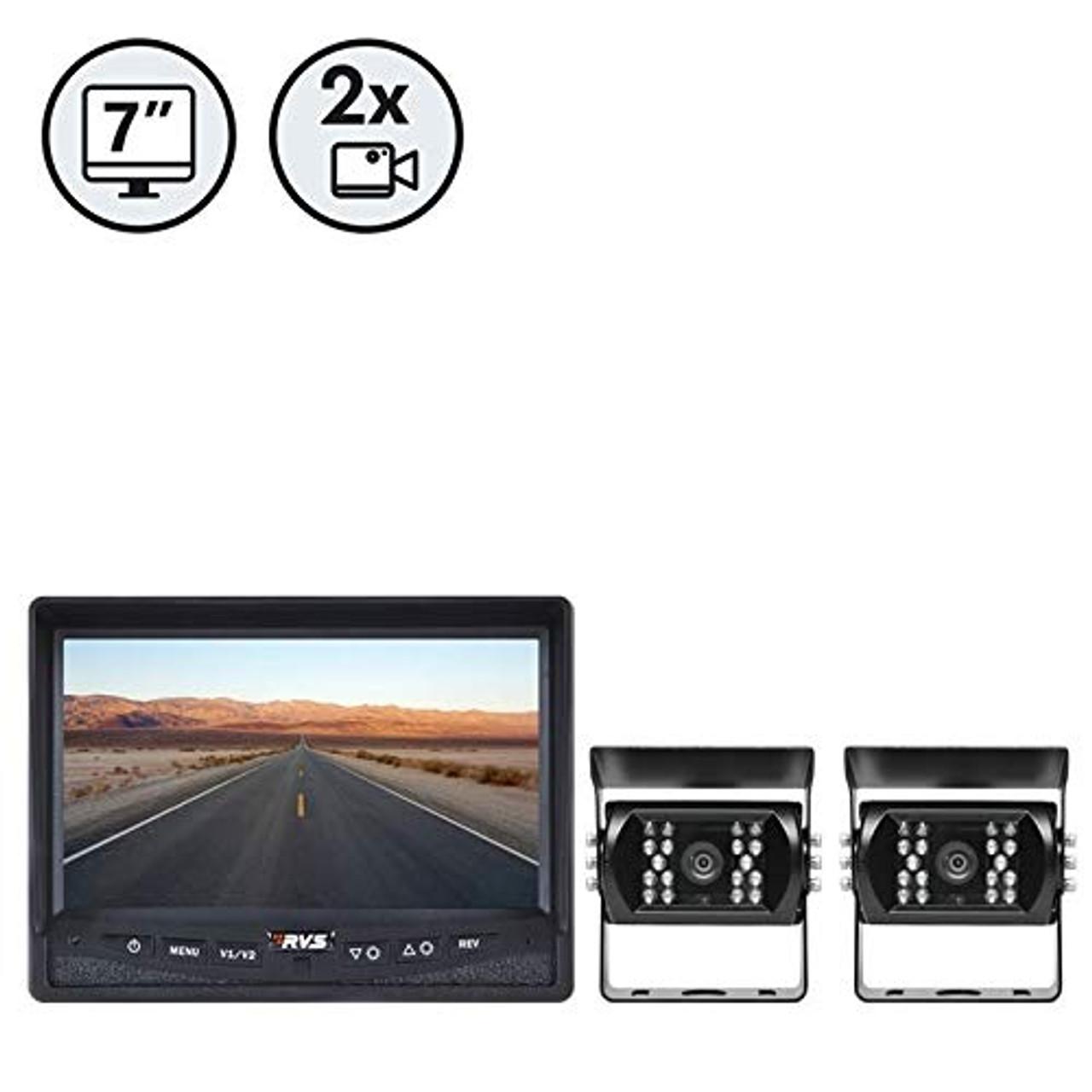 "7"" Display, 2 x Backup Cameras, 2 x 66' Cables | 1016VYM4Z01"