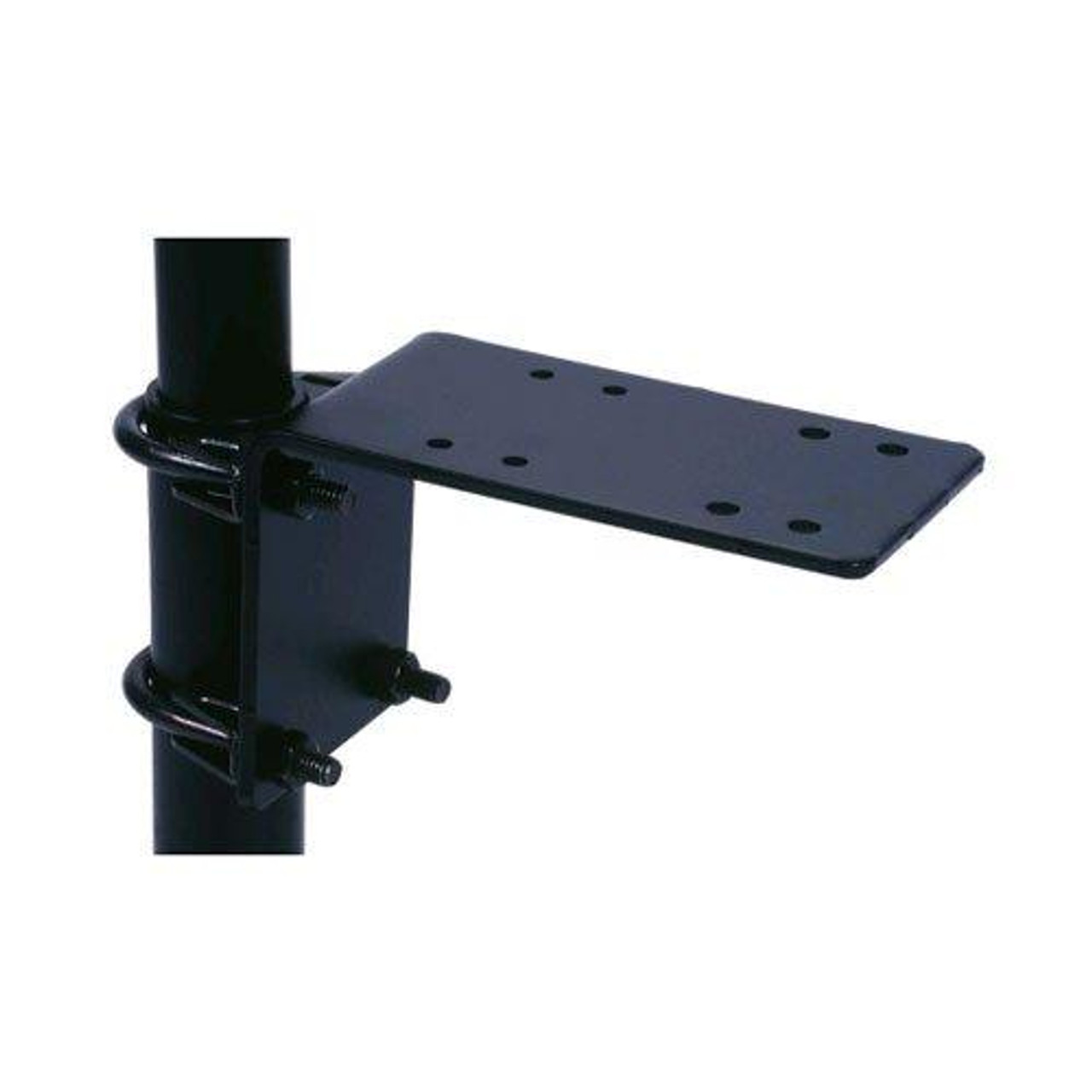 """Gamber-Johnson Rack-to-Post Bracket with 6"""" Platform secures to a"""
