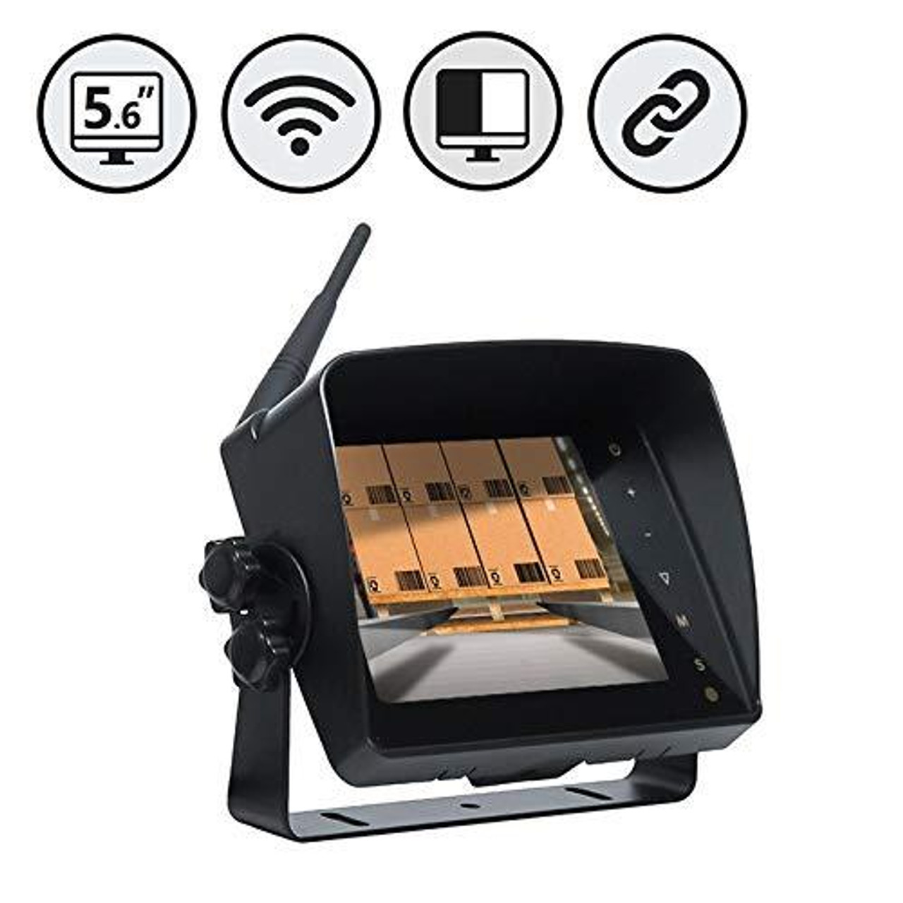 """2.4G Digital 5.6"""" Wireless Color LED Monitor"""