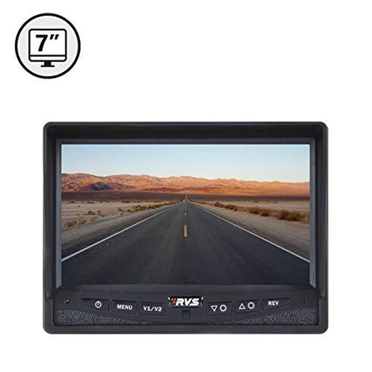 "7"" LED Digital Color Rear View Monitor (Power Harness)"
