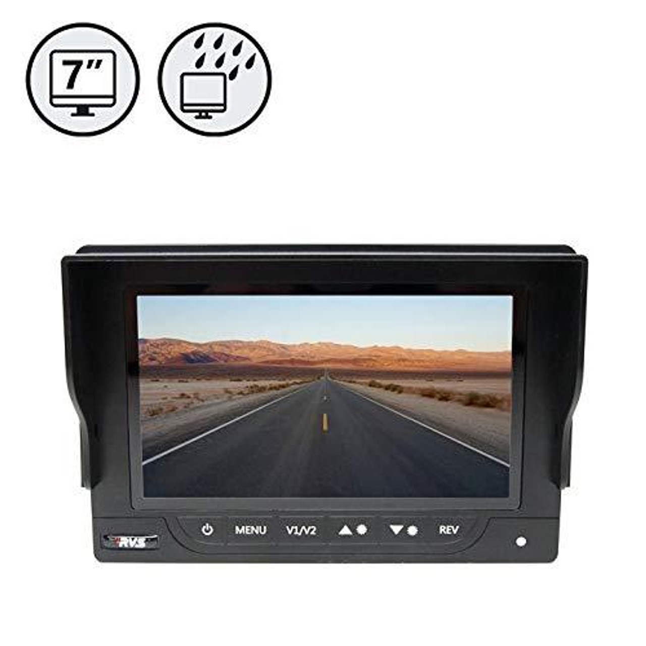"7"" Waterproof Rear View Monitor"