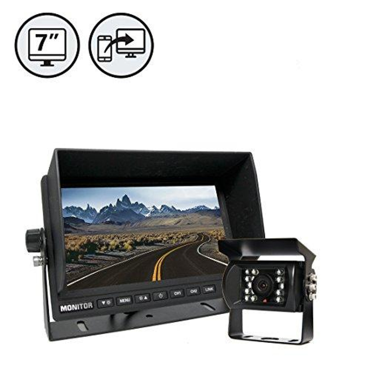 Backup Camera System with MirrorLink