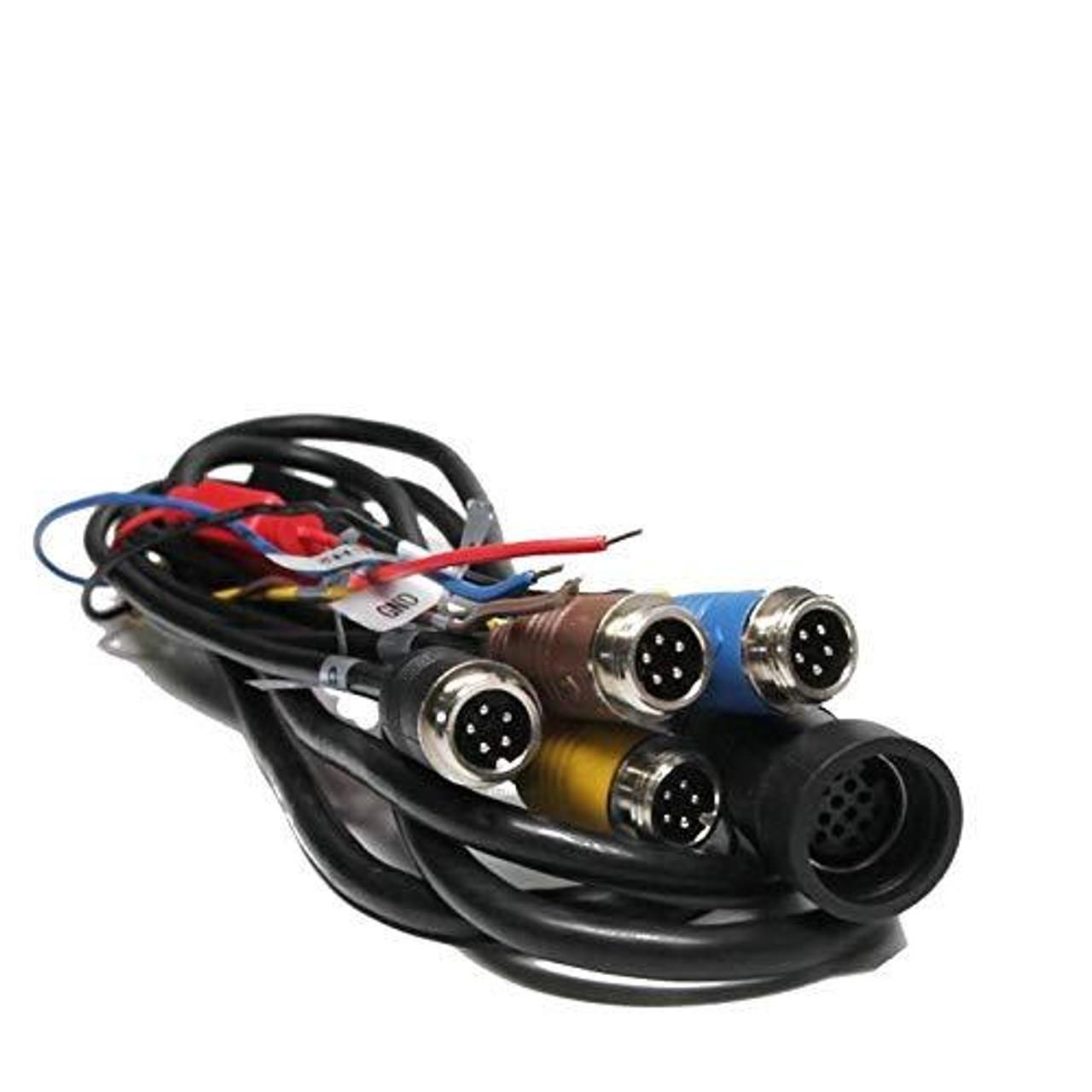 Four Camera Power Harness for The Quad View Camera System