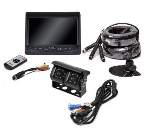 Backup Camera System with Dual Lens Camera (RVS-813613-NM)