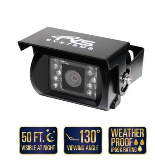 130° Backup Camera with 18 Infra-RED ILLUMINATORS (RVS-770)