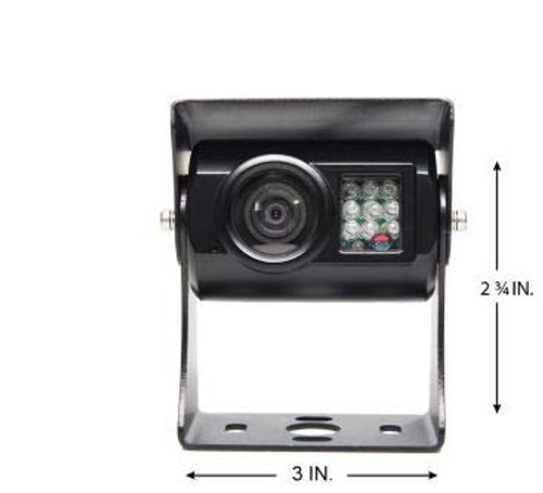 Backup Camera w/9 IR, 66' Cable, RCA Adapter