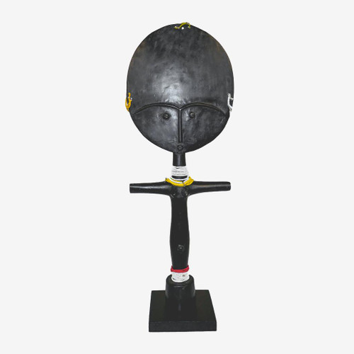 Akuaba Ashanti Fertility Doll Black, Ghana 1