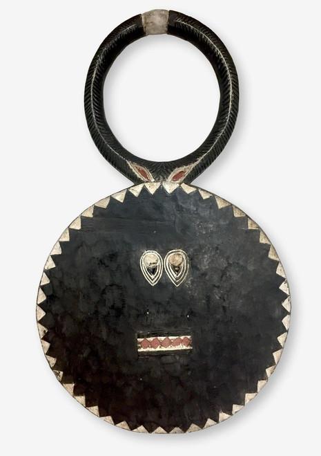 Baule Mask or Goli Mask Large Black, Ivory Coast