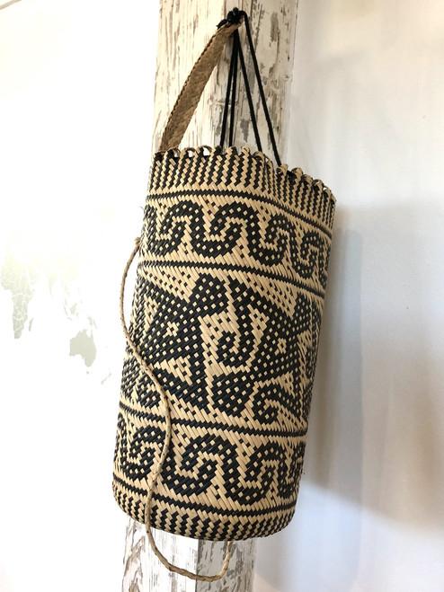 Tribal Rattan Backpack | Kalimantan, Borneo