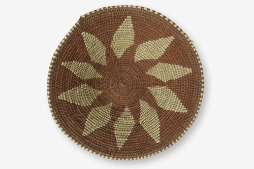 Swazi Sisal Handmade Small Basket #5, Zimbabwe