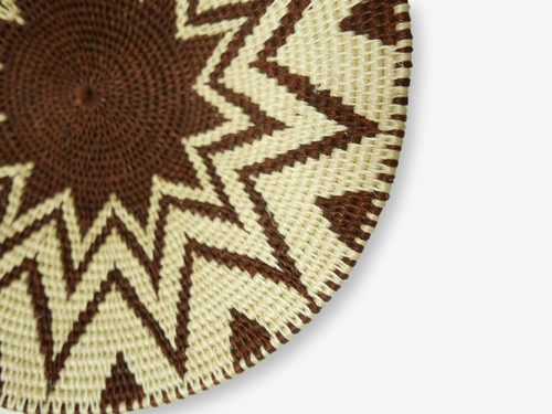 Swazi Sisal Handmade Basket Small #7, Zimbabwe