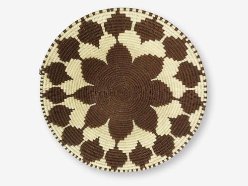 Swazi Sisal Handmade Basket Medium #1, Zimbabwe