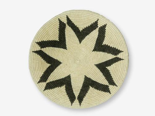 Swazi Sisal Handmade Basket Medium #2, Zimbabwe