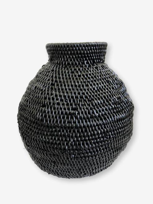 Buhera Basket Black #1, Zimbabwe