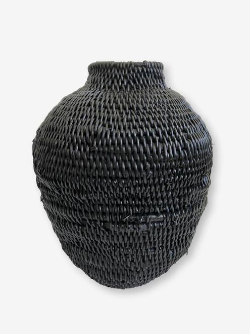 Buhera Basket Black #3, Zimbabwe
