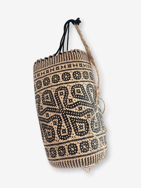 Tribal Rattan Backpack #3| Kalimantan, Borneo