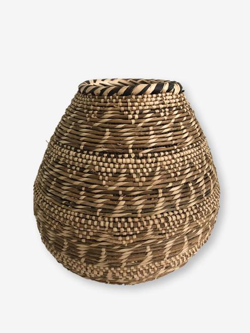 Tonga Basket Gourd #3, Zimbabwe