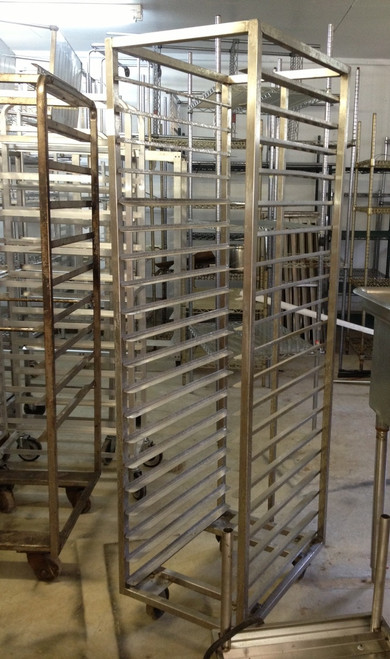 USED SHEET PAN RACKS