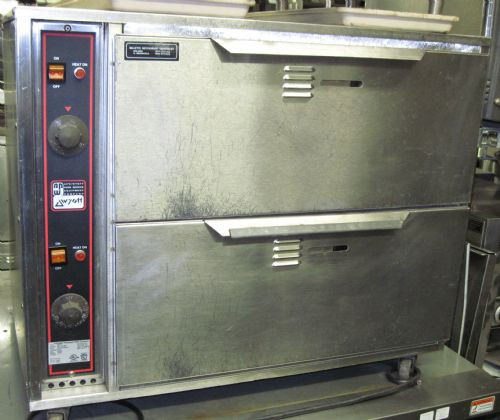 APW 2 DRAWER WARMER W/ CONVECTION