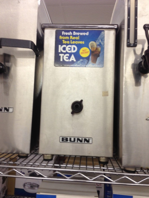 BUNN TD4 ICED TEA/COFFEE DISPENSER