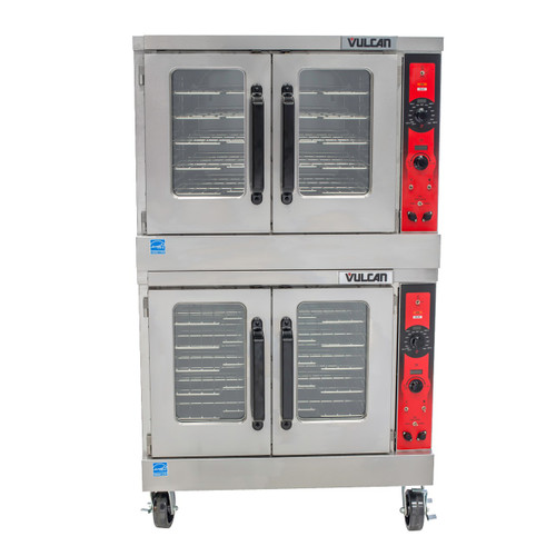 VULCAN ELECTRIC CONVECTION OVEN - DBL STACK