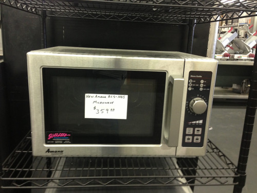AMANA RCS10DS COMMERCIAL MICROWAVE