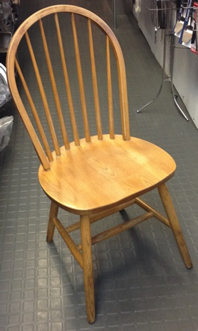WOOD WINDSOR BACK CHAIR