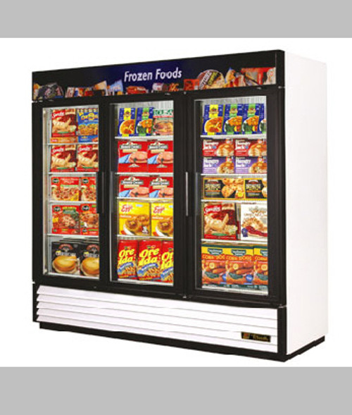 NEW TRUE GDM-72F 3 DOOR GLASS DOOR FREEZER - CALL FOR PRICING