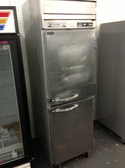 BEVERAGE AIR EF241AHS REACH IN FREEZER