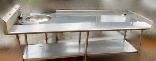 LEFT SOIL DISH TABLE