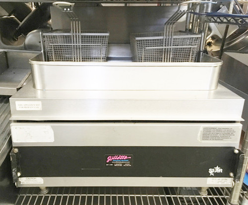 Star-Max?? 630FF Heavy Duty Fryer, countertop, gas, 30 lb. fat capacity, twin baskets, adjustable heat controls, under fired, heavy duty knobs, 70,000 BTU, CSA, NSF