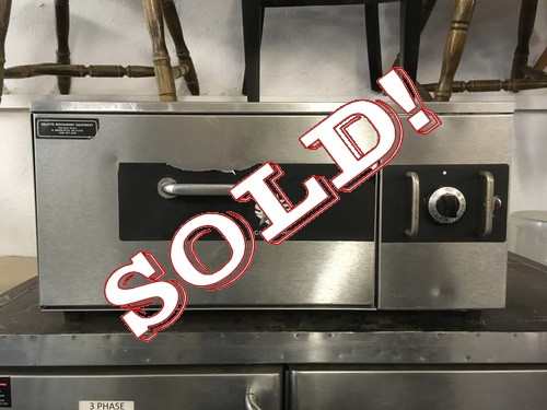 USED STAR SST-25 Drawer Warmer, capacity 32 buns, tempurature controls from 80?øF to 200?øF, full extension stainless slide, removable stainless steel pan, stainless steel exterior. 115v/1ph