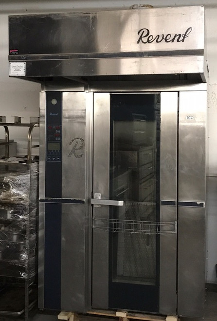 """Roll-In Rotating Rack Oven, electric, single, (1) single rack capacity, computer controls with 500 programs, total convection control system & heavy duty steam system, auto damper, burner & vent package, overhead lift, """"700 Series Deep Canopy"""", TCC air distribution, full length window in door, 41.0 kW"""