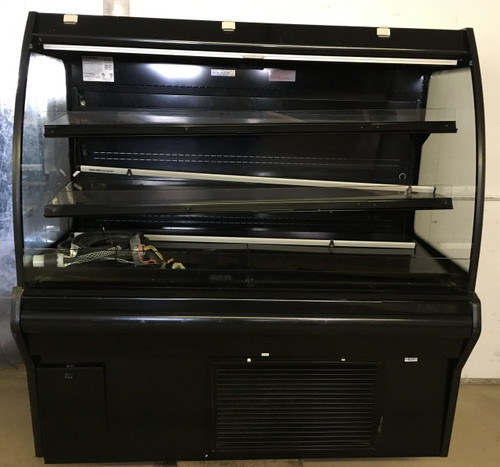 "HUSSMANN IM-04-15-S MEDIUM TEMP SELF SERVICE MULTI-DECK SELF CONTAINED OPEN FRONT MERCHANDISER.  48"" X 36"" X 64"" TALL.  208/240V 1 PHASE.  3 MATCHING CASES AVAILABLE (2) 4' CASES AND (1) 8' CASE. NBm."