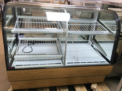 FEDERAL CGR5948DZ DUAL ZONE BAKERY DISPLAY CASE 59""