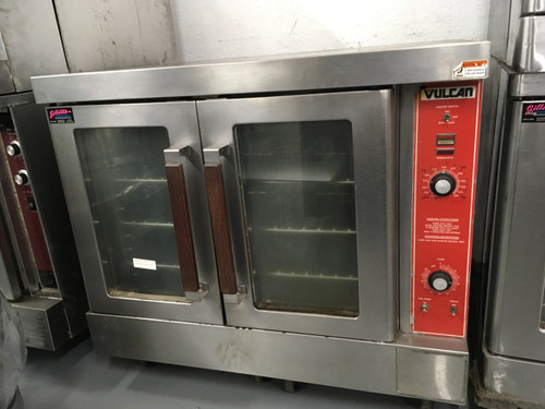 """Convection Oven, gas, single-deck, bakery depth, solid state controls, electronic spark igniter, 60 minute timer, 25-3/4"""" high legs, stainless steel front, top and sides, stainless steel door with window, 50,000 BTU, NSF, CSA Star, CSA Flame, ENERGY STAR??"""