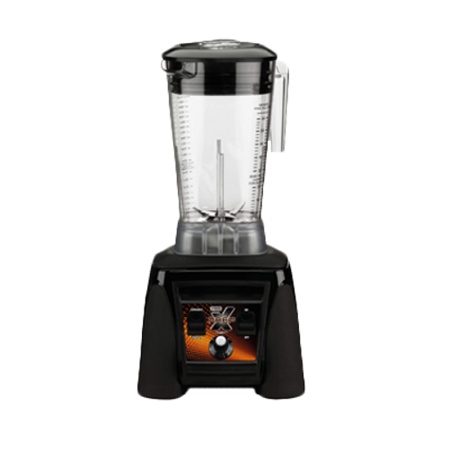 Xtreme High-Power Blender, heavy duty, The Raptorƒ?› 64 oz. BPA Free Copolyester container, adjustable speeds from 1,500 to 20,000 RPMs, max pulse with 30,000 RPM burst of speed, one-piece dishwasher-safe removable jar pad, 120v/60/1-ph, 13.0 amps, 3.5 HP, NSF, cUL & UL, Made in USA