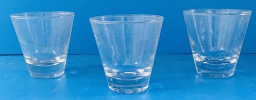 USED COCKTAIL GLASS