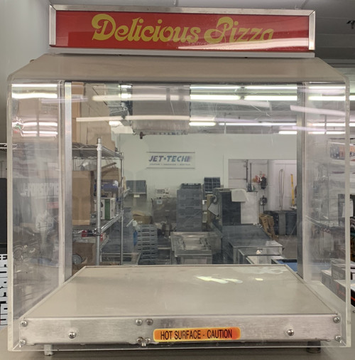 HATCO DELICIOUS PIZZA COUNTER TOP DISPLAY CASE