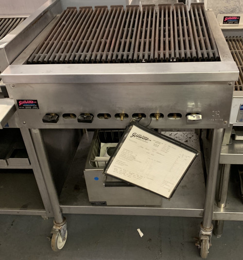 "USED 30"" JADE CHARBROILER. NATURAL GAS."