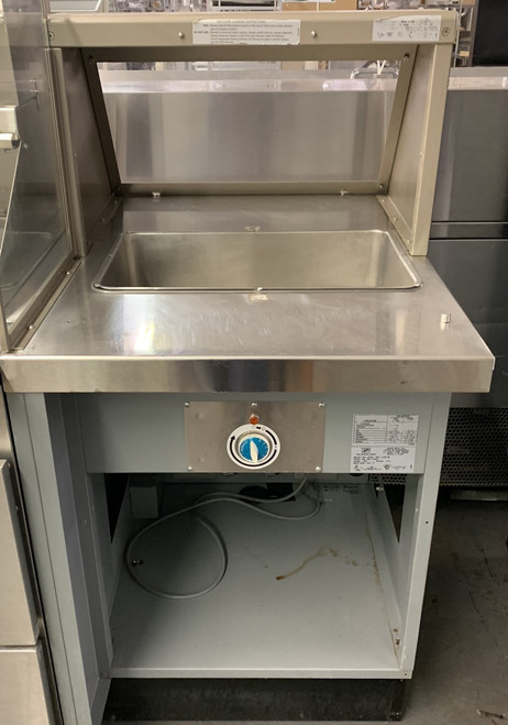 USED DUKE SUB-HFL25M STEAM TABLE. 120V.