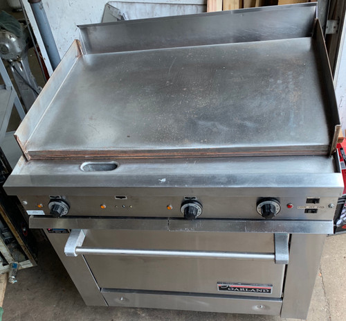 GARLAND 36ERC38 CONVECTION STOVE W 3' GRIDDLE (IIS137)