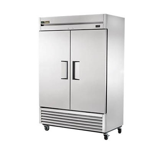 NEW TRUE T-49 DOUBLE DOOR COOLER - $300 ELECTRIC INSTANT REBATE