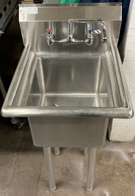 1 BAY SINK WITH NO DRAINBOARDS